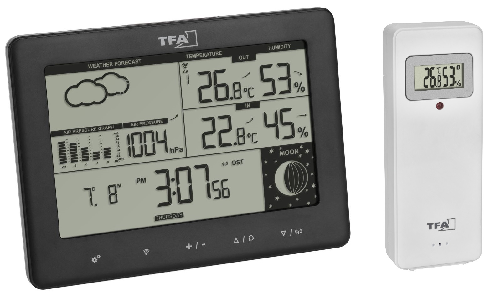 Meteostanice TFA 35.1158.01.GB ELEMENTS